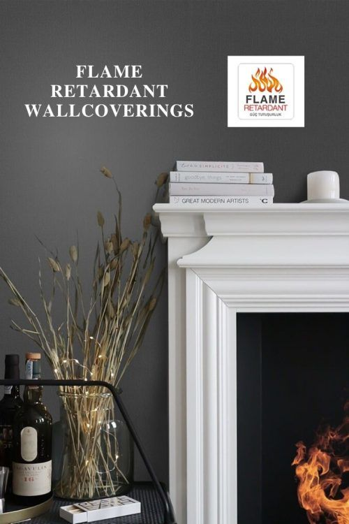 flame retardant wallcoverings   e